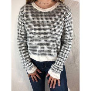 Forever 21 Gingham Sweater
